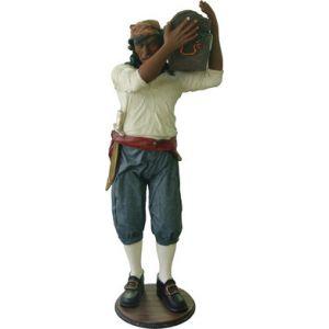 piraat polyester beeld schatkist