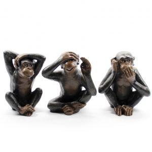 Aap - horen zien zwijgen apen