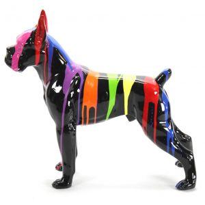 hond boxer kunst