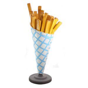 patat reclame frietzak-geruit-snackbar-cafetaria