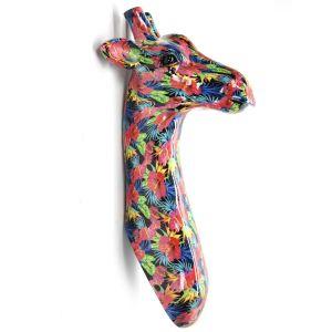 Giraf kop - flower design