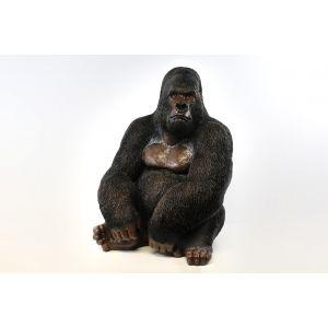 gorilla zittend