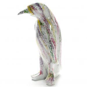pinguin colorful splash