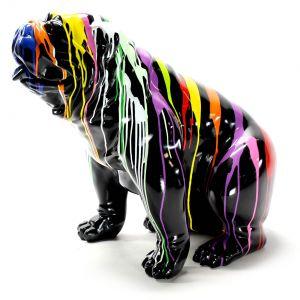 Kunst beeld hond